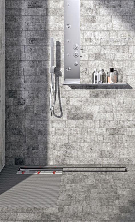 Bodengleiche Dusche Ablauf by Dusche Ablaufrinne Baustoffe Bauelemente Selbst De