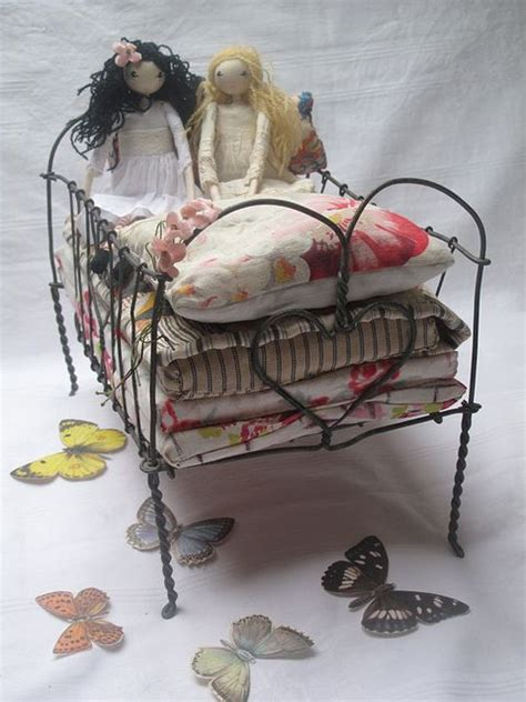 Handmade Doll Beds - 1000 images about assemblange dolls on doll