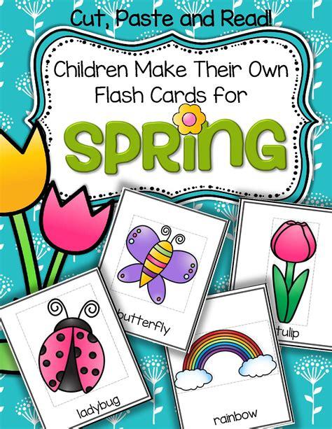 make your own vocabulary flash cards vocabulary center and printables children make