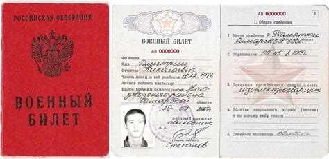 russian id card template identity card