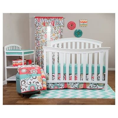 Crib Bedding Sets Target Waverly Baby By Trend Lab 3pc Crib Bedding Set Pom Pom Play Target