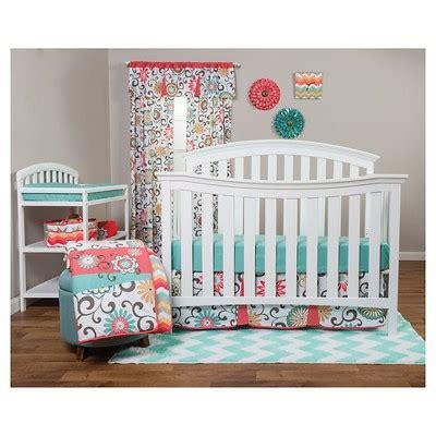 target crib bedding sets waverly baby by trend lab 3pc crib bedding set pom pom