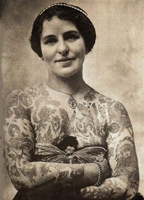 vintage photographs of tattooed women vintage everyday