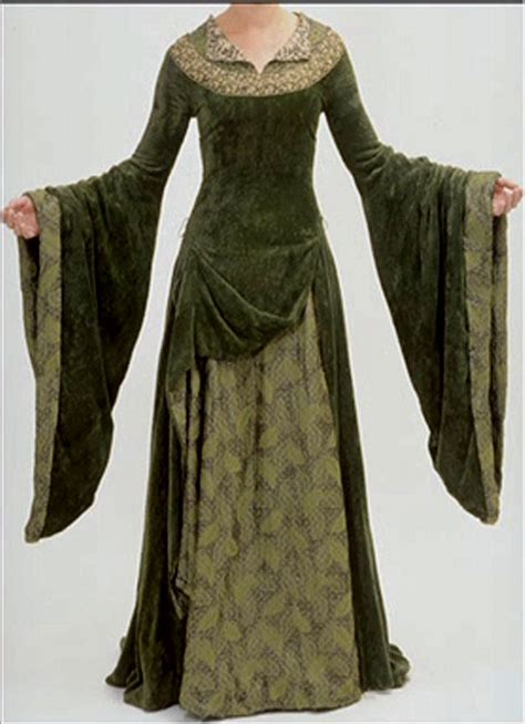 pattern medieval dress would make a great pattern style for a wedding or