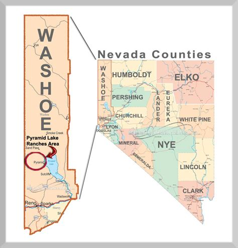 Reno Nevada Court Records Washoe County Map Calendar Template 2016