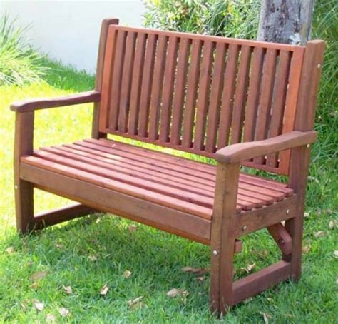 Handcrafted Wooden Benches - handcrafted wood bench with slats custom redwood seating