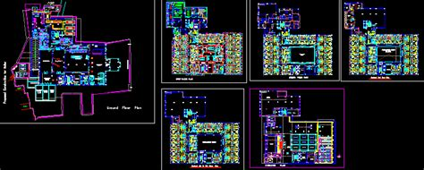 hotel layout plan autocad file hotel with 6 storeys 2d dwg design plan for autocad