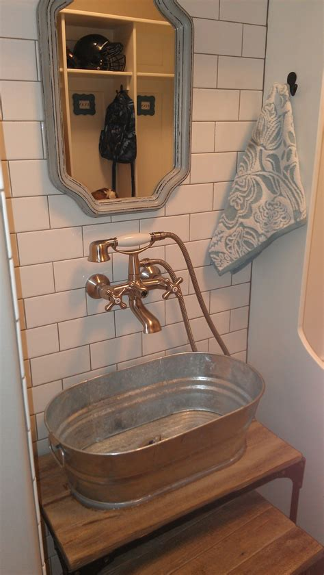 17 best images about galvanized sinks on