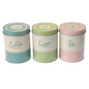 kitchen tea coffee sugar canisters transform your kitchen with retro accessories crafts
