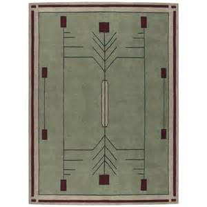 stickley area rug prairie craftsman mission