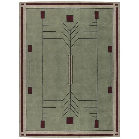 stickley area rug prairie craftsman mission