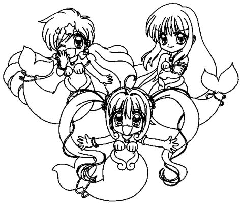 Pichi Pichi Pitch Coloring Pages Coloring Pages Mermaid Melody Coloring Pages