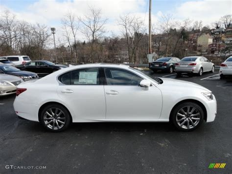 white lexus 2013 starfire white pearl 2013 lexus gs 350 awd exterior photo