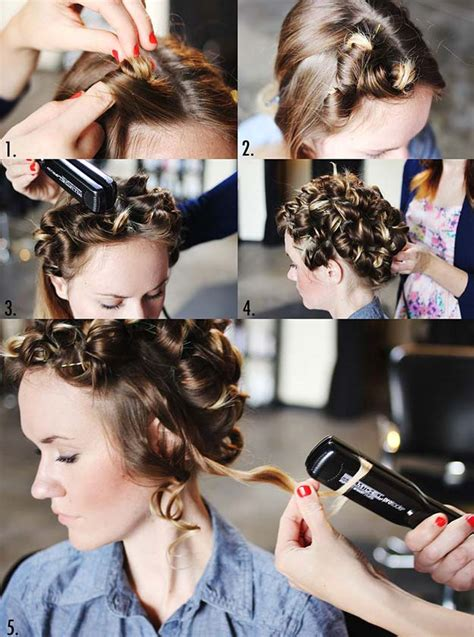 cool hairstyles to do eith axe gel flat iron hairstyles tutorials and tricks