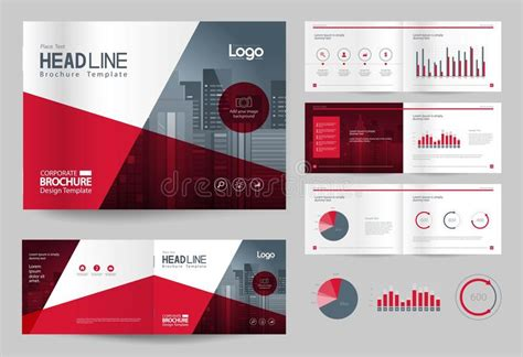 layout template en español business brochure design template and page layout for