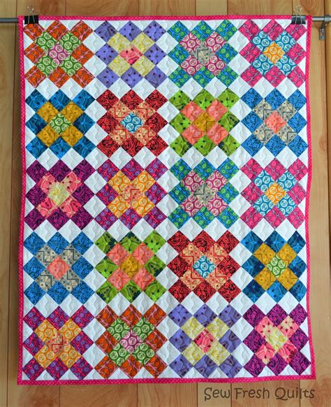 Square Quilt Block by Sew Fresh Quilts Square Quilt Blocks