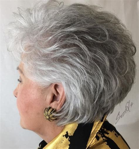 layered hairstyles for gray thinning hair 60 best hairstyles and haircuts for women over 60 to suit
