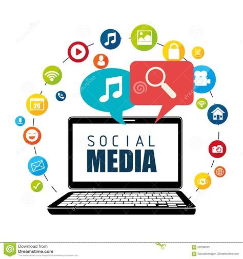 design graphics for social media social media graphic design concept video blogging guy