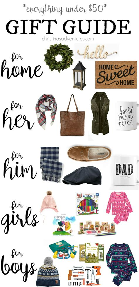 affordable holiday gift guide for her just a trace christmas gift guide for her him kids and home