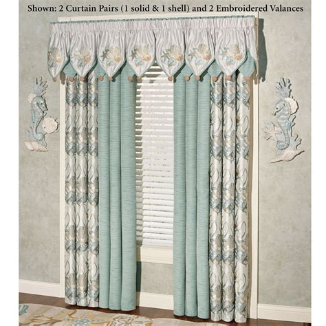 coastal curtains window treatments coastal dream window treatment