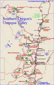 myrtle creek oregon map the oregon winery review exploring the umpqua valley at