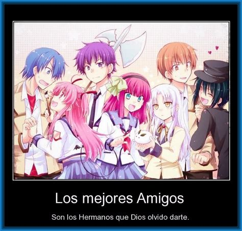 imagenes anime con frases de amistad ver dibujos anime de amistad y de amor imagenes de anime