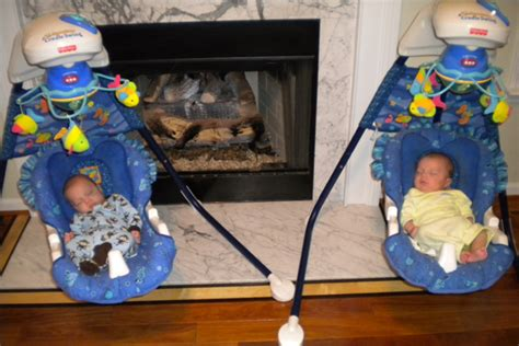 twin baby swing sets twiniversity tips when did you get rid of your infant