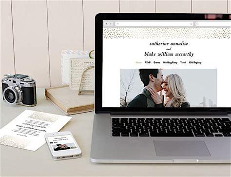wedding website matching invitations minted free wedding websites with matching invitations