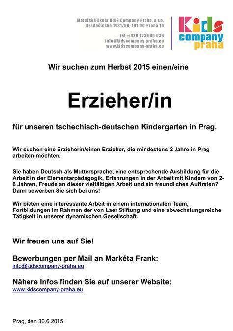 Praktikum Bewerbung Jugendamt Bewerbung F 252 R Kindergarten Yournjwebmaster