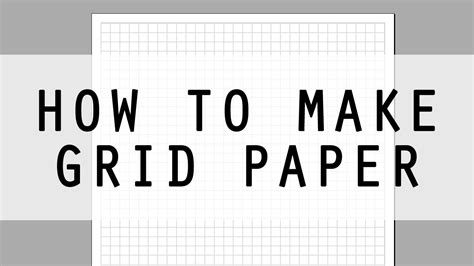 how to make chart psper for make sagun envelope how to make grid paper using wordart easy diy printable