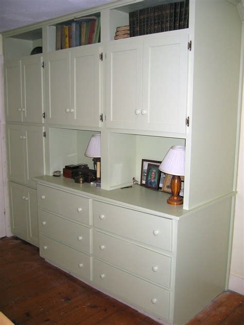 built in shelves and cabinets built in double dresser cabinets shelves dan wetmore