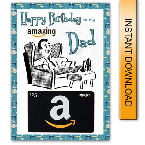 printable gift cards paypal printable birthday card amazon gift card holder amazing