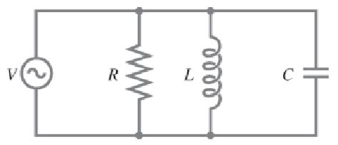 capacitor and resistor in parallel ac a resistor r capacitor c and inductor l are conn chegg