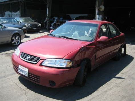 how to sell used cars 2000 nissan sentra user handbook sell used 2000 nissan sentra gxe sedan 4 door 1 8l no reserve in orange california united states