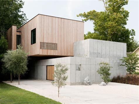 modern box house concrete box house influenced by japanese design