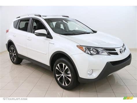 Toyota Rav4 Limited 2015 2015 White Toyota Rav4 Limited Awd 108610306