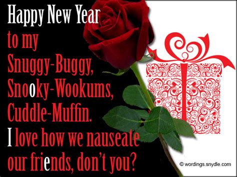 romantic new year messages wordings and messages