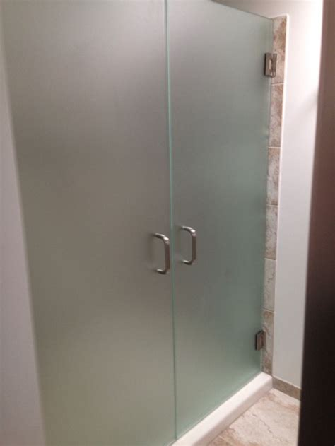 Frosted Glass Shower Door 11 Best Images About Shower Doors On Pinterest Frosted Glass Bathroom Ideas And Glass Shower
