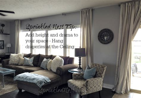 how high should i hang a picture how to hang ceiling curtains integralbook com