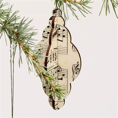 christmas tree decorations vintage music by bombus