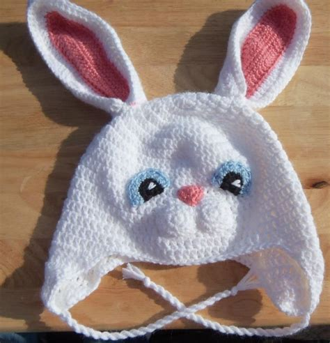Rabbit Ear Hat rabbit hat hat rabbit ear warmers and
