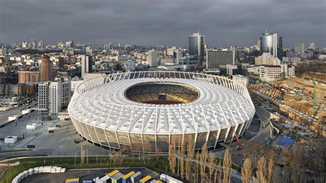 Schlaich Bergermann Und Partner estadio ol 237 mpico de kiev gmp architekten von gerkan