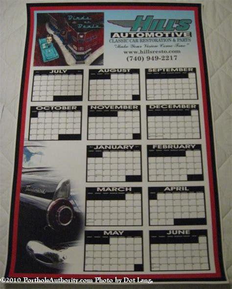 Comda Calendars T Bird Collecting