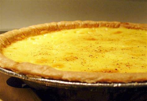 egg custard pie recipe food com