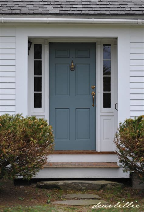 Dear Lillie Jason S New Front Door Color New Front Door