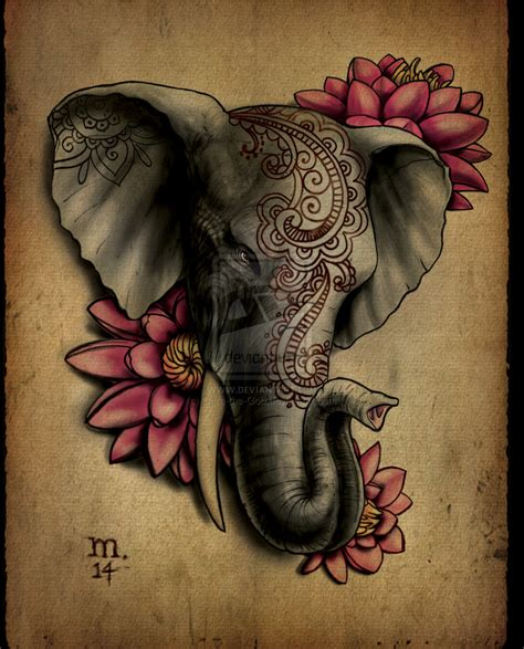 elephant tattoo clipart elephant mandala buscar con google some day
