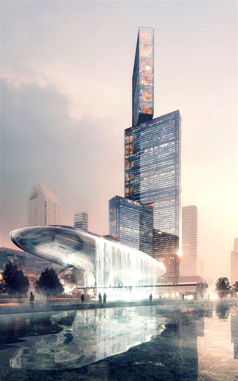 Plp Search Plp Unveils Pearl River Delta S Tallest Building As Part Of New Masterplan Archdaily