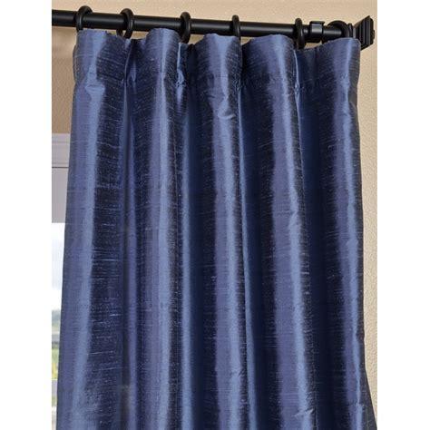 Blue Drapery Panels exclusive fabrics and furnishings dupioni textured silk winter blue curtain panel panels drapes