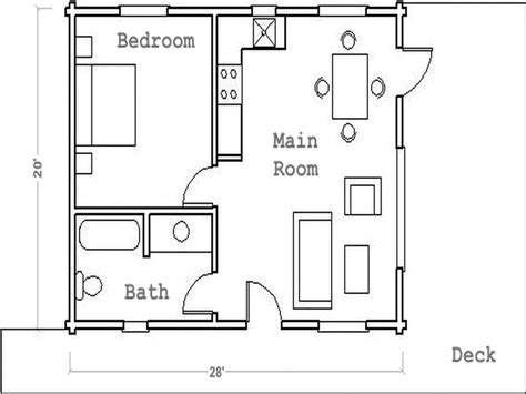 guest house floor plan 1 bedroom guest house plans escortsea