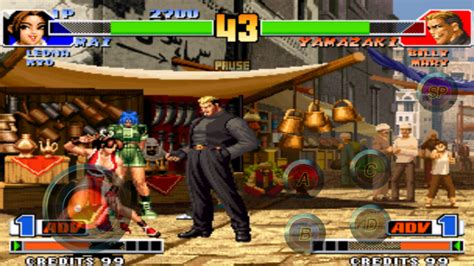 the king of fighters 98 apk the king of fighters 98 apk obb review dan android